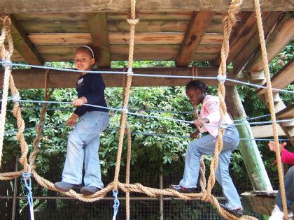 "Islington children's adventure playgrounds  are now legally safeguarded ""in perpetuity""."