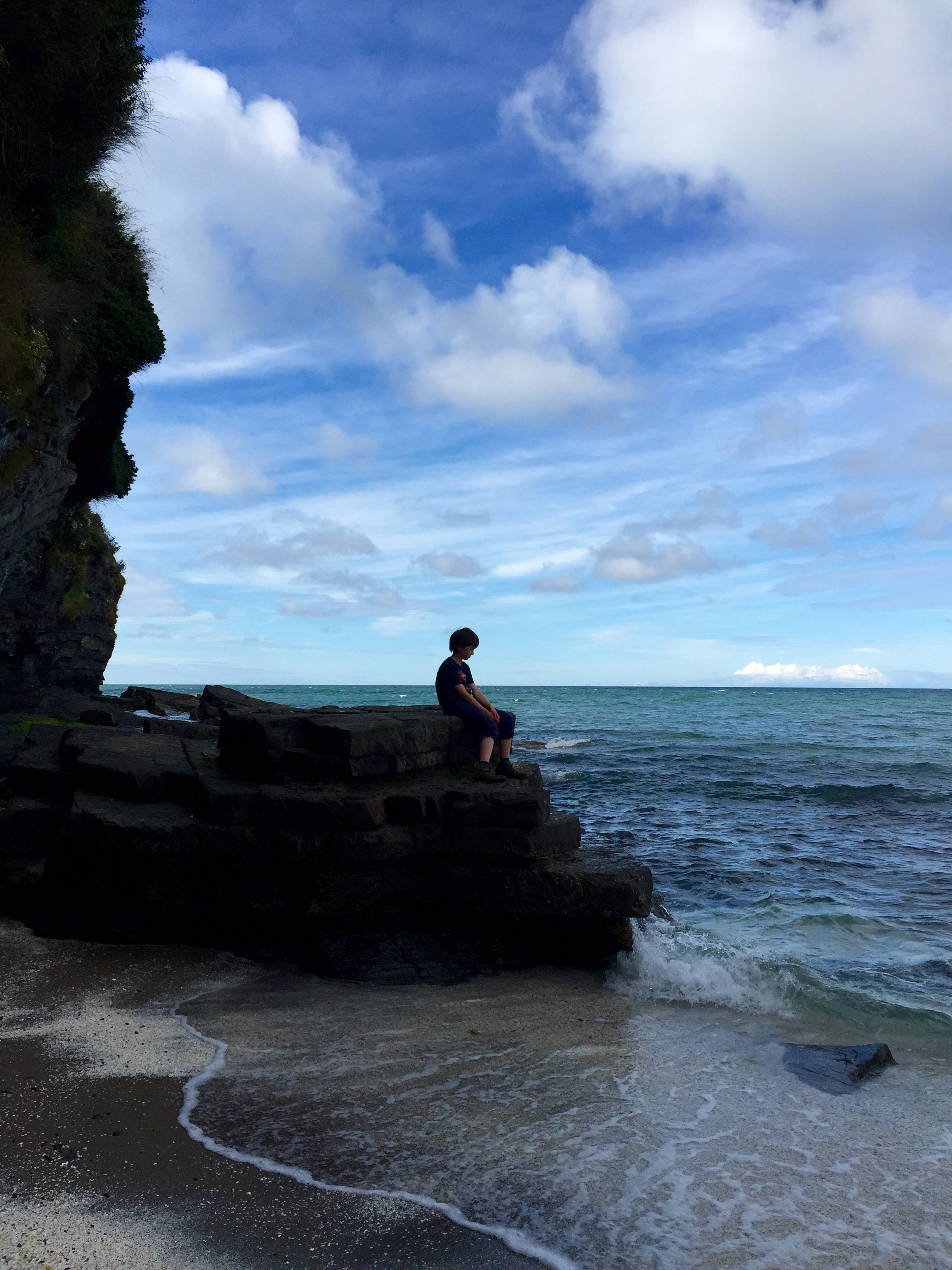 Children love being by cliffs and water - but should policy be telling parents when to let them explore such places alone?