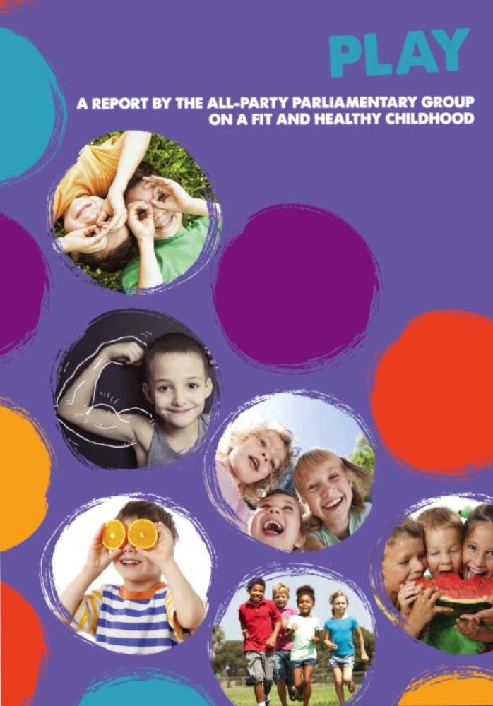 All party group calls for play to be at the heart of 'whole child' health strategy