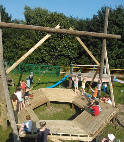 The new playwork foundation is almost ready to launch. Photo: Meriden Adventure Playground
